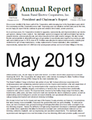May 2019, Annual Report