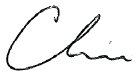 Chris signature