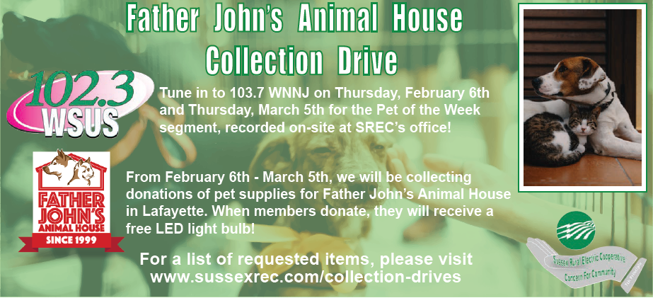 Father John's Collection Drive