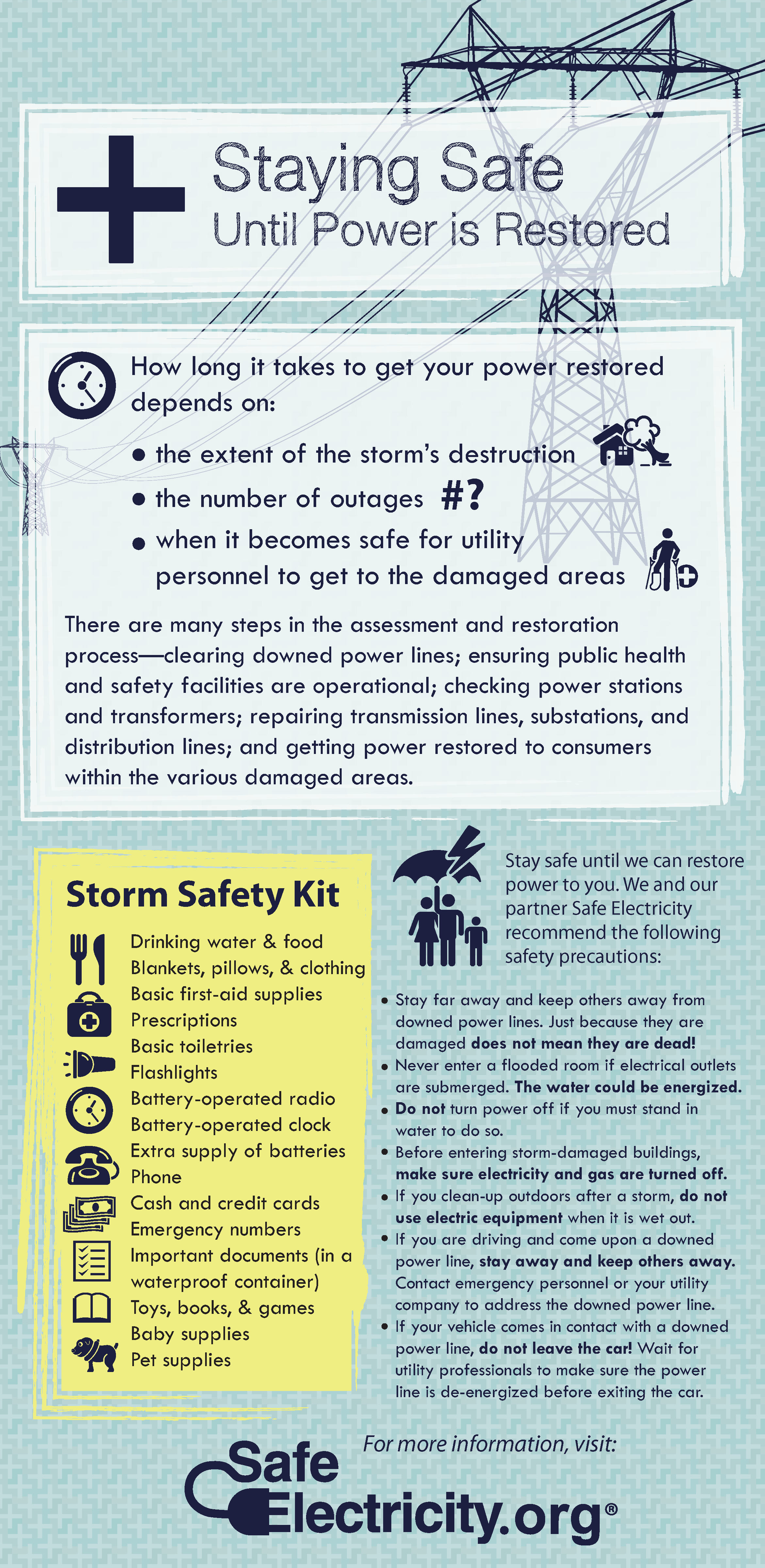Storm Safety Checklist
