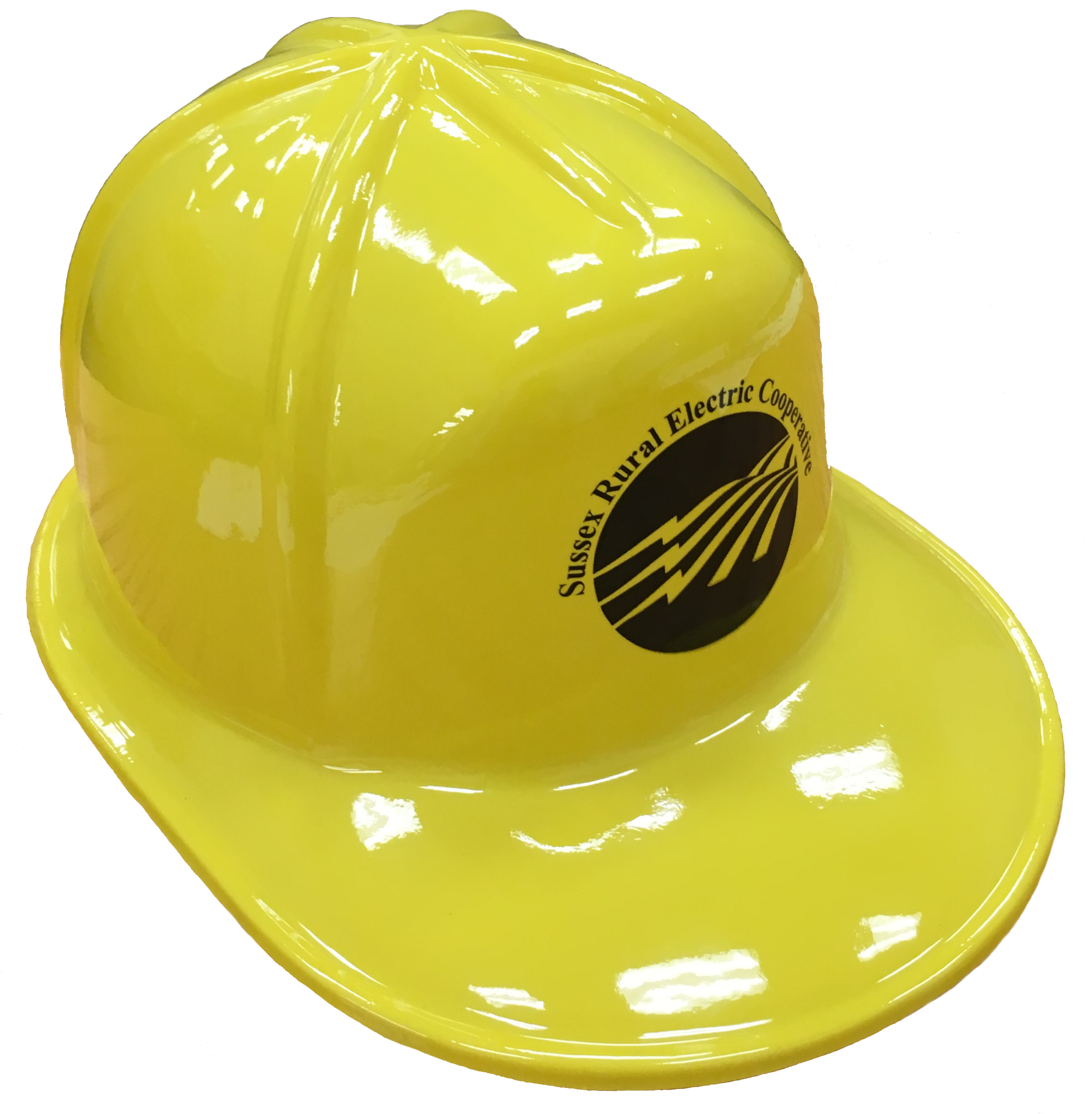 Plastic hard hat