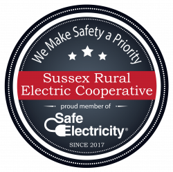 Safe Electricity Proud Member Badge