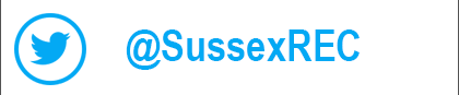 Follow us on Twitter - @sussexrec