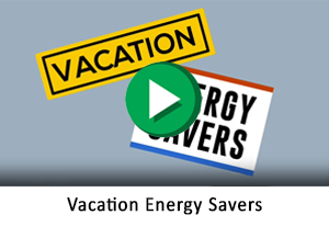 Vacation Energy Savers