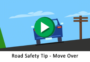 Road Safety Tip - Move Over for Utility Vehicles